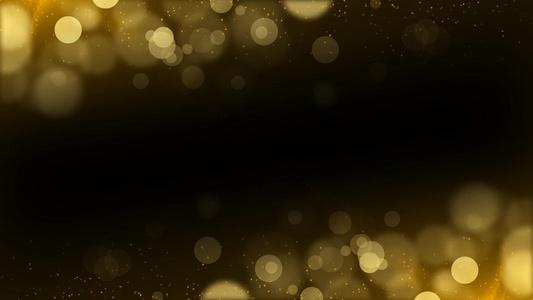金色粒子光效logo开场预告pr模板15秒video