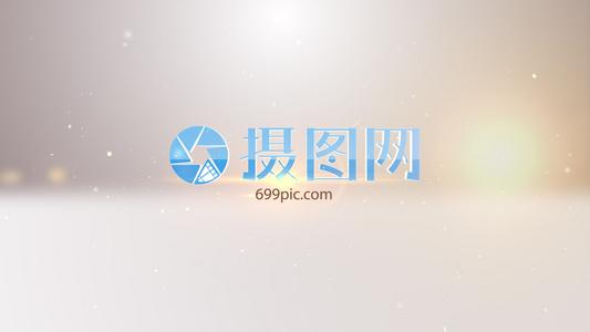 LOGO标志演绎流体梦幻光效标志AE模板11秒视频