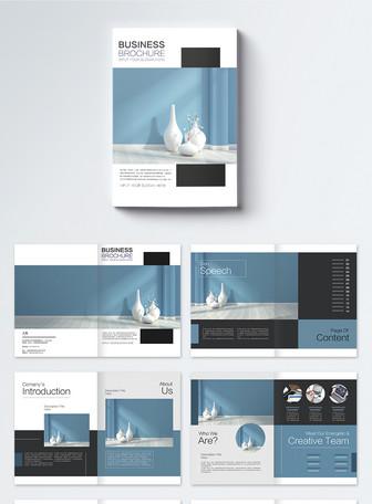 极简风格家具行业企业宣传册设计模板