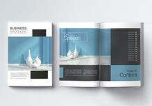 极简风格家具行业企业宣传册设计模板图片
