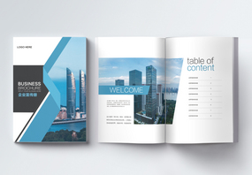 高端企业集团宣传画册图片