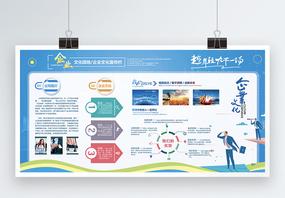 企业发展历程文化墙展板图片