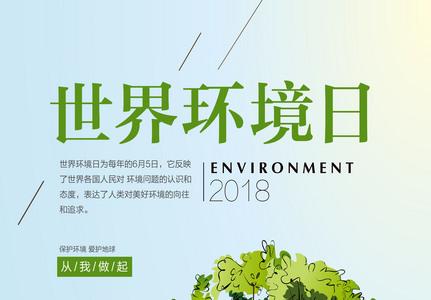 世界环境日海报图片