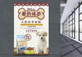 宠物零食特惠海报图片