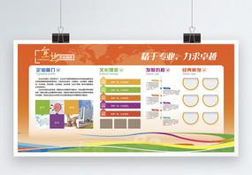 企业文化园地宣传展板图片