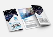 企业通用折页图片