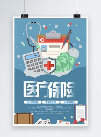 医疗保险宣传海报