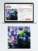 蓝莓淘宝主图直通车图片