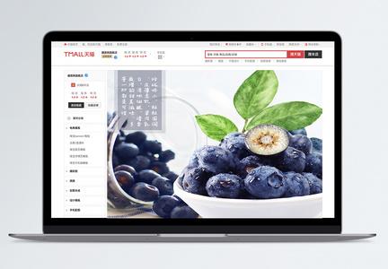 蓝莓水果电商淘宝详情页图片