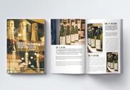 啤酒宣传画册整套图片