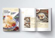 美食宣传画册整套图片