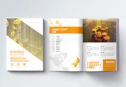 商务金融企业宣传册图片