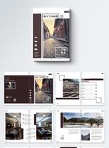 古镇旅行摄影写真画册整套图片