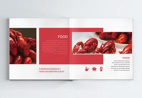 美食餐饮宣传画册整套图片