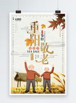 重阳节敬老海报图片