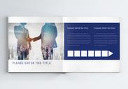 金融商务企业画册整套图片