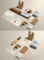 企业产品展示VI样机图片