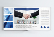 企业团队合作画册整套图片