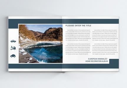 旅游宣传摄影画册整套图片