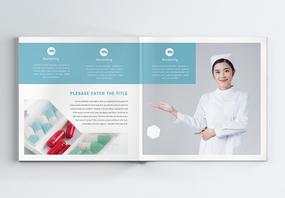 医疗宣传画册整套图片