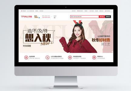 秋季保暖毛衣女淘宝banner图片