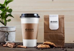 咖啡杯包装样机展示图图片