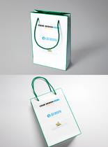 手提袋包装样机展示图图片