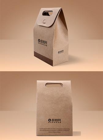食品盒包装样机
