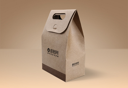 食品盒包装样机图片