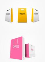 创意手提袋包装样机图片