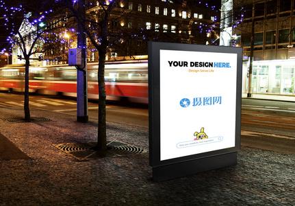 广告位样机素材图片