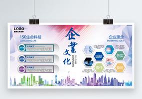 生物医疗企业文化展板图片