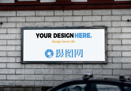 广告位样机图片