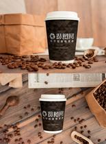 咖啡杯VI贴图模版图片