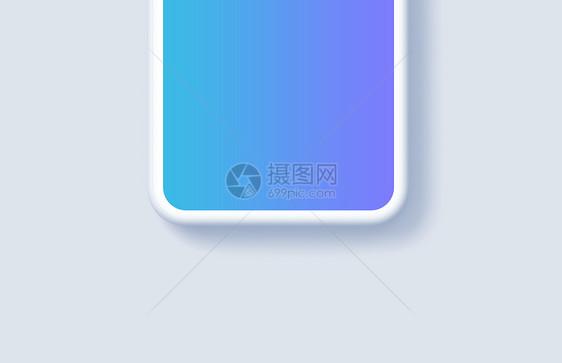 苹果X手机展示样机图片
