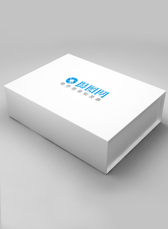 白色包装盒样机