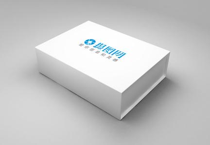 白色包装盒样机图片