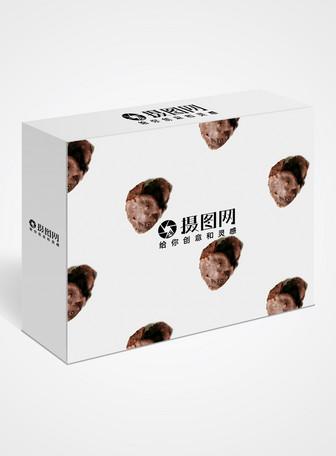 巧克力包装盒样机