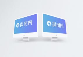 台式苹果电脑样机图片