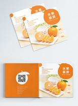 橙子水果画册封面图片