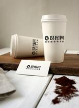 咖啡杯包装样机图片