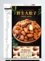 野生大松子促销淘宝详情页图片