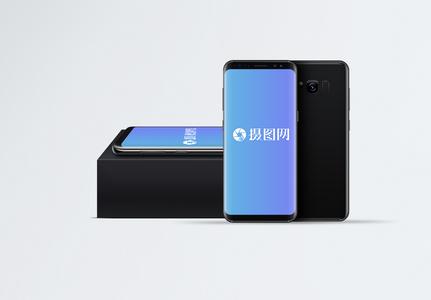 三星手机电子设备样机图片