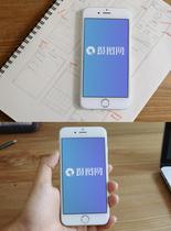 苹果手机电子设备样机图片