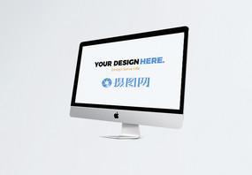台式苹果电脑电子设备样机图片