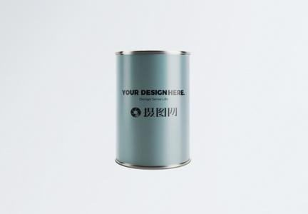 罐子包装样机图片