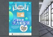 智能无人机科技海报图片