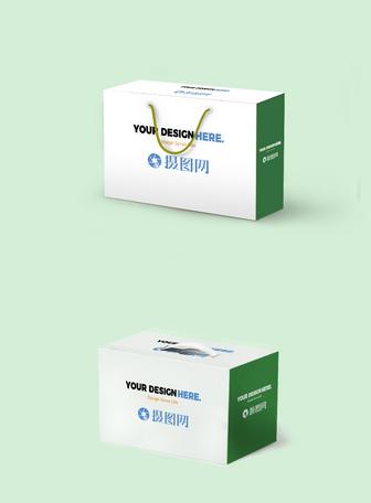 盒子包装样机