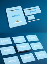 蓝色调VI设计图片