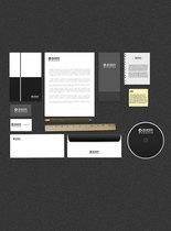 黑白色VI设计图片